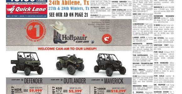 Texas Tire Shop Abilene Tx American Classifieds Abilene 01 19 17 by American Classifieds