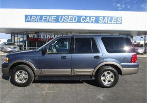 Texas Tires Abilene Tx 2003 ford Expedition Eddie Bauer Abilene Tx Abilene Used Car Sales