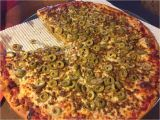Thats A Pizza Acme Sausage and Green Olive Thin Crust Yelp