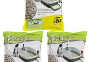 The Breeze Litter Box Reviews Amazon Com Tidy Cats Pack Of 3 Breeze Cat Litter Pellets 3 5 Lb