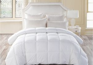 The Fluffiest Down Alternative Comforter Snowman Fluffy White Goose Down Alternative Comforter 100