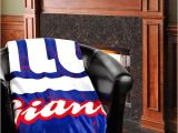 Tiffany Days Plush Xl New York Giants 50 Quot X 60 Quot Old School Mink Sherpa Plush Blanket