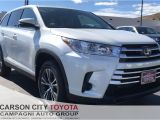 Tire Dealers Carson City Nv New 2019 toyota Highlander Le In Carson City Nv Carson City toyota