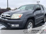Tire Dealers Carson City Nv Used One Owner 2005 toyota 4runner Sr5 Sport In Carson City Nv