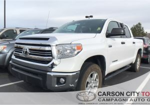 Tires for Sale Carson City Nv Used Certified One Owner 2017 toyota Tundra Sr5 Crewmax Ffv In
