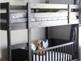 Toddler Loft Bed with Crib Underneath Best 25 Bunk Bed Crib Ideas On Pinterest toddler Bunk