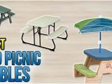 Toys R Us Children S Picnic Table top 9 Kid Picnic Tables Of 2019 Video Review