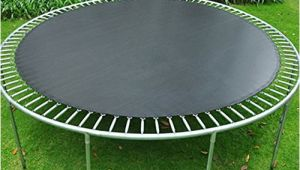 Trampoline Mat and Springs Jumping Mat Replacement for 14 Ft Round Trampoline Frame