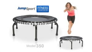 Trampoline with 350 Lb Weight Limit Jumpsport Fitness Trampoline Model 350 Protrampolines