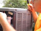 Trane Xr14 Vs Xr16 Hvac Trane Unit Stopped by Run Capacitor Failure Youtube
