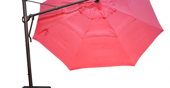 Treasure Garden 13 Umbrella Replacement Canopy Treasure Garden Cantilever Aluminum 13 Foot Wide Crank