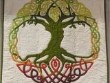 Tree Of Life Wall Hanging Quilt Pattern Quilt Inspiration Green Green