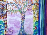 Tree Of Life Wall Hanging Quilt Pattern Wall Art Modern Art Quilted Tree Of Life by Stitchesnquilts