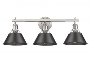 Trent Austin Design Lighting Trent Austin Design Weatherford 3 Light Vanity Light