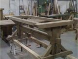 Trestle Table Base Kits Nearly Done Piere Trestle Table Farm Tables In 2019