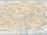 Tri Star Indiana Pa State and County Maps Of Pennsylvania