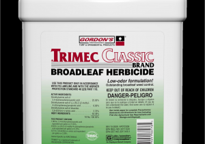 Trimec Classic Oz Per Gallon Trimec Classic Herbicide Lawn and Pest Control Supply