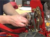 Troy Bilt Super Bronco 50 Xp How to Replace the Idler Pulleys On A Troy Bilt Super Bronco Tiller