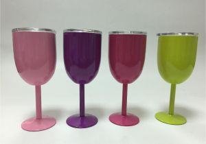 True north Coolers Wine Glass Groa Handel 10oz Edelstahl Becher Rotwein Glas Mit Deckel