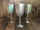 True north Stainless Wine Glass Stainless Steel Wine Glass Stainless Steel Wine Glasses