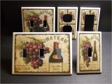 Tuscan Wine and Grape Kitchen Decor Tuscan Wine Grapes Kitchen Decor Light Switch or Outlet