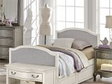 Twin Mattress On Twin Xl Frame Ne Kids Kensington Victoria Antique White Twin Size Upholstered