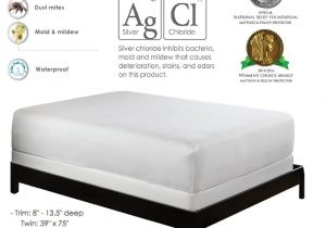 Twin Mattress Vs Twin Xl Amazon Com Purecare Premium 5 Sided Mattress Protector Waterproof