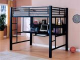 Twin Size Loft Bed with Desk Underneath Plans 41 Unique Twin Metal Loft Bed with Desk and Shelving Pictures Desk