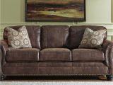 Types Of Fake Leather Couches Faux Leather sofa with Rolled Arms and Nailhead