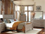 Unclaimed Freight Near Me Rustic Natural Gray Panel Poster Bedroom Set American Freight