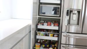 Under Cabinet Wine Glass Holder Ikea Perfect Way to Hide the Microwave and Still Make It Very Accessible