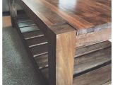 Unfinished Furniture Portland Maine A Beautiful aspen and Pine Diy Coffee Table Inspired by Crate