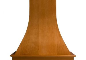 Unfinished Wood Range Hoods Range Hoods Artisan Curved Wall Mounted Wood Range Hoo