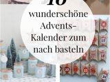 Unfinished Wooden Advent Calendar Adventskalender Basteln 10 Kreative Bastelideen Holidays