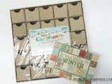 Unfinished Wooden Advent Calendar Diy Advent Calendar All You Need is Scrapbook Paper Fun Cheap