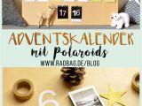 Unfinished Wooden Advent Calendar Polaroid Adventskalender Selber Basteln Instax Polaroid Display