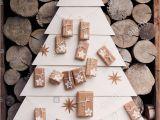 Unfinished Wooden Advent Calendar Tree Christmas Tree Made Stars Stock Photos Christmas Tree Made Stars