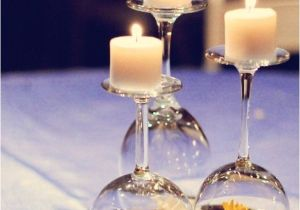 Upside Down Wine Glass Centerpiece Beautiful Diy Projects Featuring the Simple Wine Glass