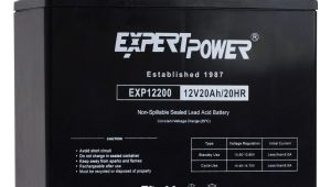 Various Types Of Batteries Used In Ups and Inverters and their Maintenance Amazon Com Expertpower Exp12200 12v 20ah Lead Acid Battery Automotive