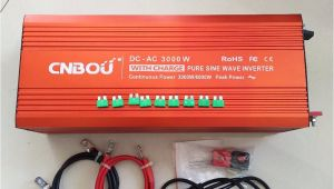 Various Types Of Batteries Used In Ups and Inverters Cnbou Off Grid Type Ups Pure Sine Wave Power Inverter 3000w with