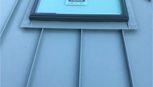 Velux solar Tube Installation Instructions Standing Seam Standing Seam Metal Roofs Metal Roof Skylight