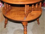 Vintage Ethan Allen Side Table Ethan Allen Lazy Susan and Mid Century On Pinterest