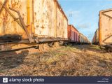 Vintage Mining Cart for Sale Derailed Old Stock Photos Derailed Old Stock Images Alamy