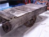 Vintage Mining Cart for Sale How to Build A Factory Cart Coffee Table Restore An Old Factory Cart