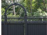 Vinyl Fencing Ogden Utah Dark Grey Painted Fence Garden Pinterest Fence Garden Fencing
