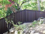 Vinyl Fencing Ogden Utah Trex Fencing On A Steep Slope Don T Fence Me In Pinterest
