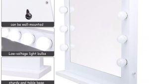 Voltage Makeup Vanity with Mirror Giantex Lighted Makeup Vanity Dressing Mirror Tabletop Mirror Dimmer