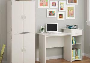 Walmart Kitchen Drawer organizer Mainstays Student Desk with Easy Glide Drawer Multiple Finishes
