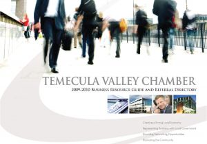 Waste Management Murrieta Ca 92563 Temecula Valley Chamber Of Commerce Business Resource Guide by