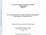 Waste Management Navarre Fl Schedule Pdf Green Transportation and the Role Of Operation Research
